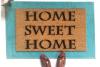 Home sweet home cute doormat
