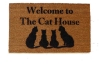 Welcome to the Cat House doormat