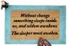 frank herbert dune quote doormat nerdy house gift
