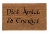 Diteamici'ed entrate italian LOTR Tolkien  -Speak, Friend, and Enter- doormat