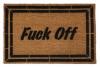 Fuck Off Classy F Bomb doormat