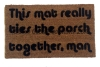 mat ties room together big lebowski doormat