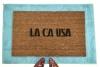 LA CA USA- Los Angeles City of Angels doormat