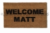 Welcome Matt funny welcome mat doormat