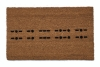 morse code Knock joke warning escape room Welcome doormat geek nerd outdoor eco