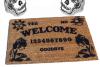 Gypsy Ouija Board Gothic home decor seance Doormat