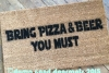 yoda pizza beer Star Wars Yoda doormat