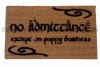 No admittance except of PUPPY business™ JRR Tolkien dog lover doormat