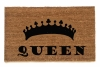 The QUEEN crown royal doormat