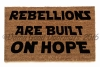 Rebellions are buit on hope, star wars rogue one leia darth vader evil fight tyr
