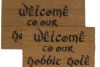 Welcome to MY Hobbit Hole JRR Tolkien nerd doormat
