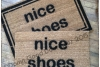 ONE LINE nice shoes doormatONE LINE nice shoes doormat
