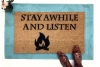 Stay Awhile and Listen Diablo doormat