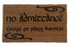 LOTR Tolkien  -Speak, Friend, and Enter- doormat geek nerd