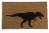 Beware of the T Rex doormat