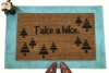 Take a hike doormat funny rude warning camping REI get outside go away