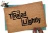 Periodic Table Tread Lightly doormat Breaking Bad