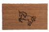 unicorn fairy tale medieval cute sweet doormat