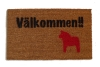 Välkommen!! It's Swedish for Welcome! Dala horse