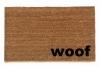 woof speak dog funny dog lover doormat