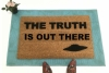 X-Files the truth is out there doormat