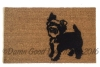 Yorkshire Terrier dog doormat