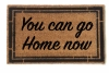 You can go home now funny rude doormat