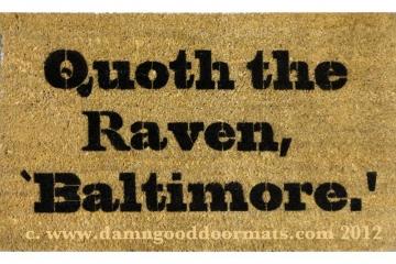 Baltimore Raven, Poe doormat