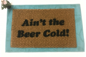 Ain't the Beer cold! Baltimore Orioles Baseball doormat