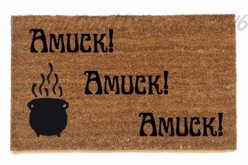 Amuck Amuck Amuck! Hocus Pocus Amuck Amuck Amuck with cauldron