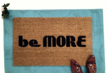 be MORE Baltimore doormat