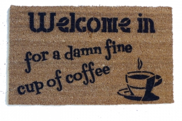 Twin Peaks Damn fine cup of coffee™ doormat