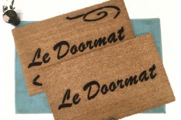 French GENERIC LE DOORMAT