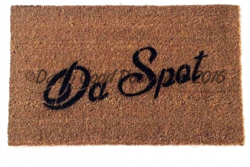 Da Spot funny ironic doormat