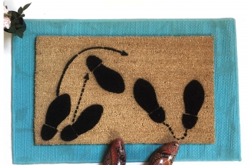 Dancing Feet doormat