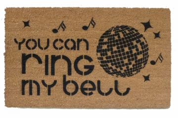 Ring my bell, disco doormat
