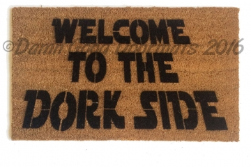 Star Wars nerd DORK side doormat