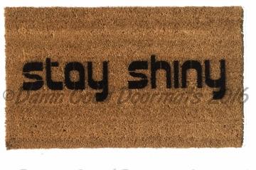 Stay Shine Firefly doormat