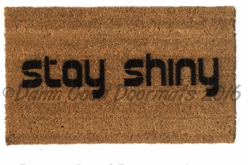 Stay Shine Firefly doormat