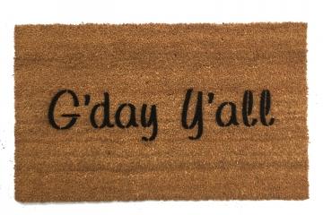 G'day y'all boho style Southern Australian doormat