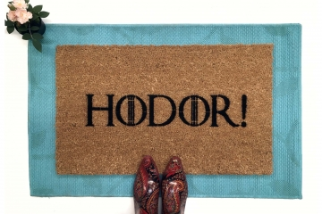 Hodor Game of Thrones doormat