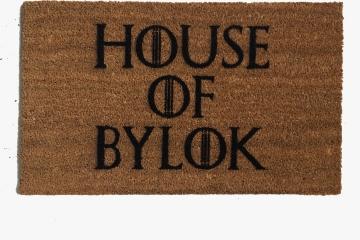 Custom House of... Game of Thrones door mat.