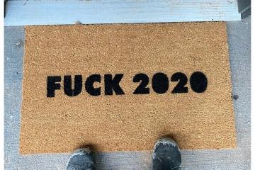 Fuck 2020 doormat