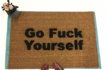 Go Fuck Yourself rude doormat