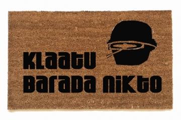Klaatu Barada Nikto- Greetings The Day the Earth Stood Still.