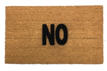 NO go away doormat`