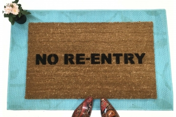 No Re-Entry™ doormat