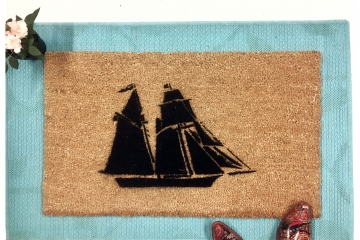 Pirate Ship doormat