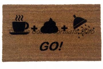 The Natural Order- Shit, shower shave doormat!