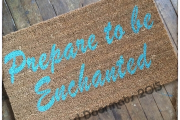 Prepare to be Enchanted™ doormat